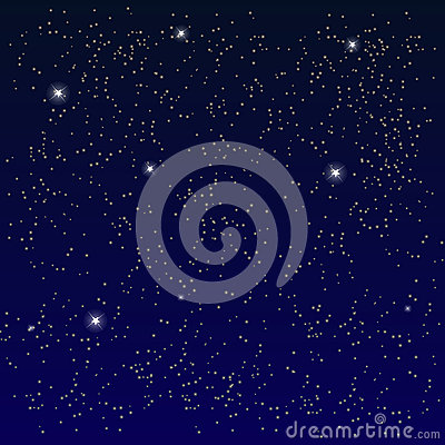 l 39 espace ciel toil avec la lune vecteur illustration de vecteur image 50122805. Black Bedroom Furniture Sets. Home Design Ideas