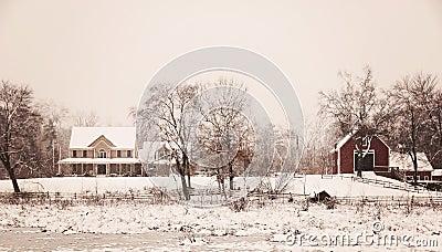 L hiver de la Nouvelle Angleterre