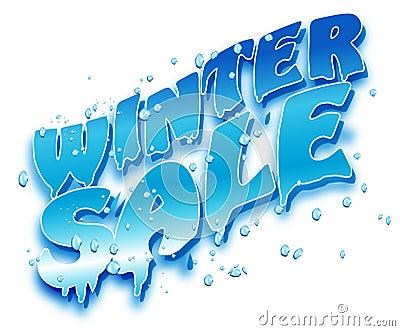 L hiver de vente