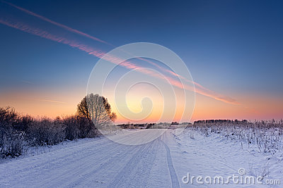 L hiver en Europe