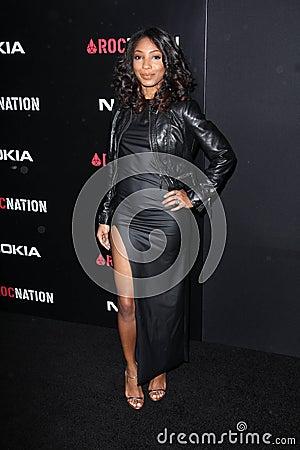 L hiver Gordon 2012 au brunch Pre- de Grammy de nation de ROC, Chambre de Soho, Hollywood occidental, CA 02-11-12 Photographie éditorial