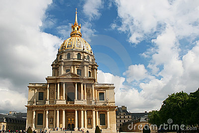 L hotel national des Invalides. Paris