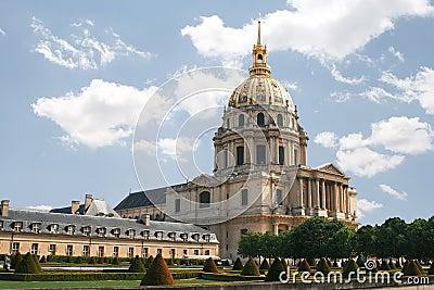 L hotel national des Invalides. Paris