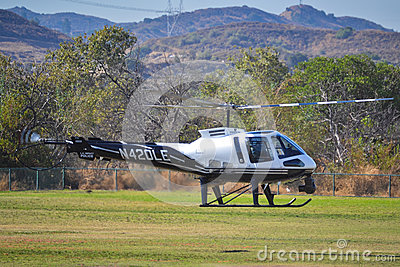 L.A. Impact Police- Enstrom 480B Editorial Image