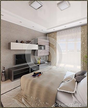 Da Letto Interior Design : La camera da letto del giovane interior ...