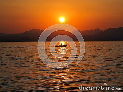 L Italia, Lago di garda