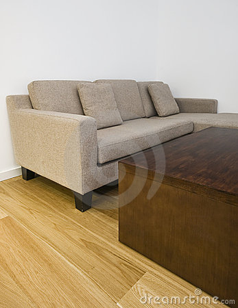 l shape sofa and coffee table royalty free stock images image 12846459. Black Bedroom Furniture Sets. Home Design Ideas
