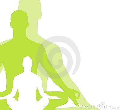 L yoga di posizione seduta calcola 2