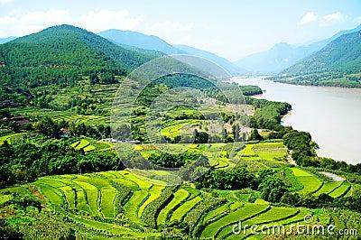 La 1ra vuelta del río de Yangtze
