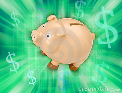 La Banca Piggy di risparmio