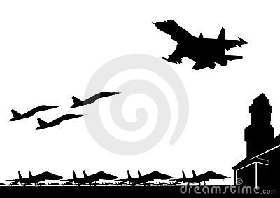 La base aérea militar