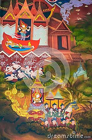 La biographie de Bouddha : Évasion du palais