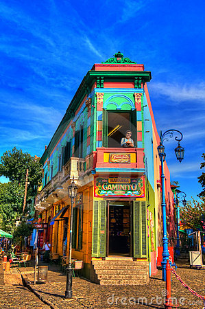 La Boca Editorial Stock Photo