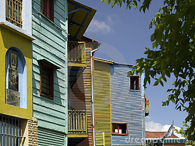 La Boca district of Buenos Aires - Argentina Editorial Stock Image
