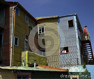 La Boca district of Buenos Aires - Argentina Editorial Stock Photo
