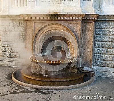 La Bollente fountain