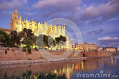 La cathédrale de Majorca
