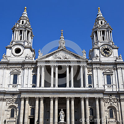 La cathédrale de St Paul à Londres