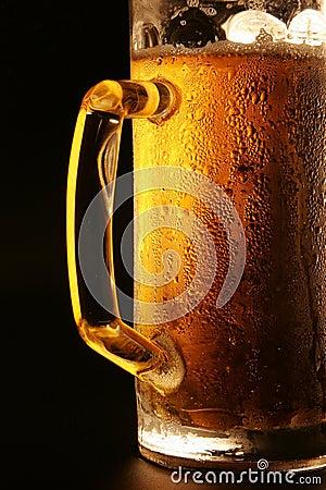 La cerveza fría