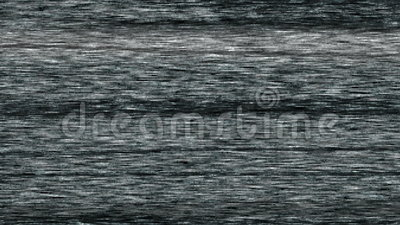 La charge statique vide de bruit blanc d'écran de la télévision TV s'éteint alors avec le spot  banque de vidéos