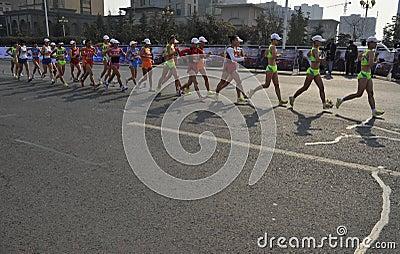 La Cina che Londra 2012 Giochi Olimpici ha tenuto nei jiangs Fotografia Editoriale