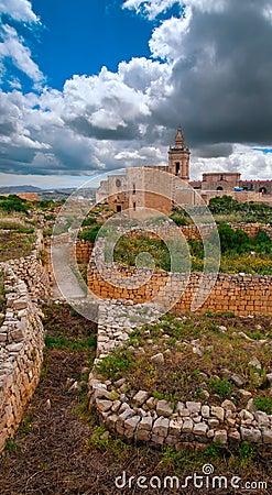 La Citadella in Victoria, Gozo, Malta