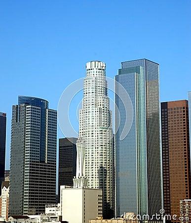 LA city at sunrise 2