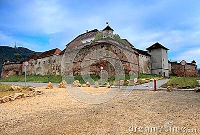 La ciudadela de la colina, Brasov, Rumania