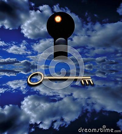 La clé qui s ouvre