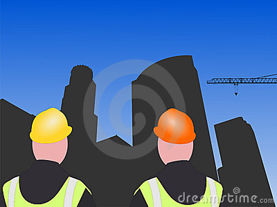 LA construction workers