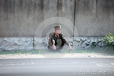 La Corea del Nord 2013 Fotografia Stock Editoriale