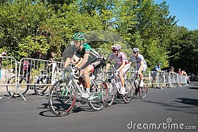 La corsa di Peloton Fotografia Stock Editoriale