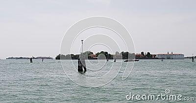 La costa de Venecia almacen de video