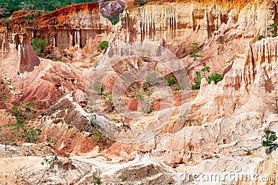La cucina dell inferno, canyon di Marafa