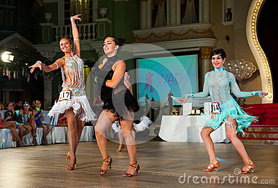La danse artistique attribue 2012-2013 Image stock éditorial