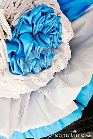 La decorazione all aperto del tessuto