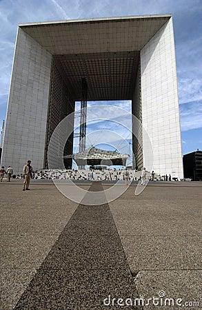 La Defence  Paris Editorial Stock Image