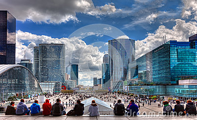 La Defense Editorial Image
