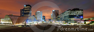 La Defense panoramic, Paris, France