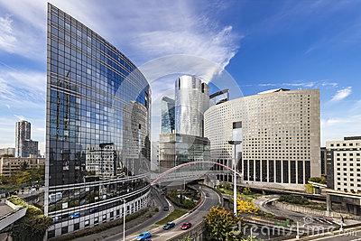 La Defense Paris Stock Photo