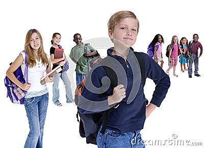 La escuela embroma diversidad