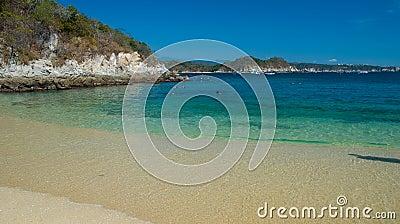 La Esperanza beach. Snorkeling. Huatulco, Mexico
