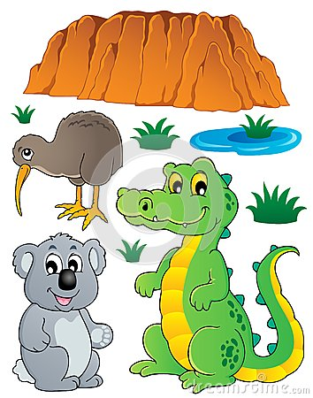 La fauna australiana de la fauna fijó 3