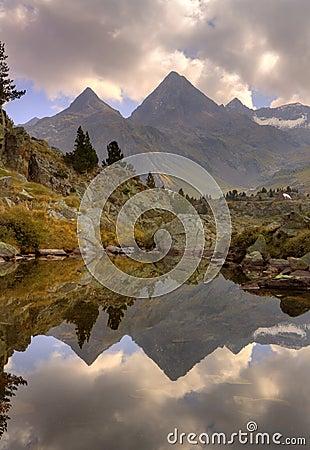 La Faxa mount, Pyrenees of Huesca, Aragon