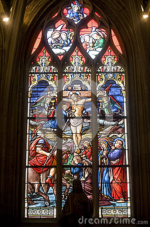 La Ferte-Bernard, stained glass