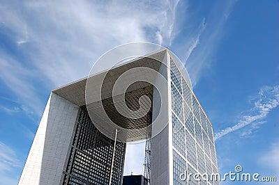 La Grande Arche © 2013 Johan Otto Von Spreckelsen. Editorial Photography