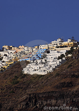 La Grèce, Santorini, Fira