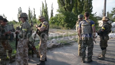 La guerre en Ukraine banque de vidéos
