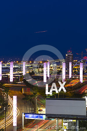 LA international airport Editorial Image