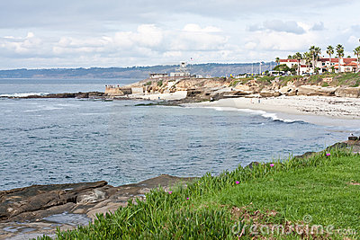 La Jolla shores in California